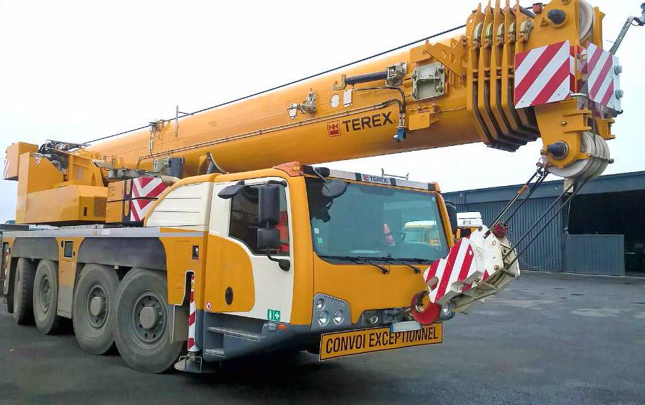 Аренда автокрана Terex-Demag AC 100/4L 100 тонн | от компании